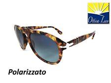 d75f7dca2f Occhiale sole Persol 649 1052 s3 Avana Blu 1052s3 Sunglass Sonnenbrille  Polar