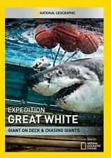 Expedition Great White: Giant On Deck & Chasing (2014, DVD NIEUW)