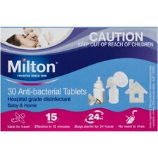 Milton Antibacterial Tablets Sterilizing 30 Pack Best Price Grant Free Shipping