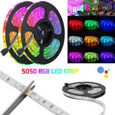 LED RGB Stripe Leiste Streifen 5050 SMD Band Leuchte Leuchte Lichterkette 1-4m