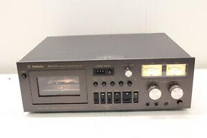 Vintage Technics RS-671 US Stereo Cassette Tape Deck Black