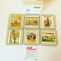 Vintage Pimpernel Buffalo Bill Historical Center Wild West Cody Wyoming Coasters