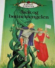 Norwegian Kids Childrens Book Norsk Fairy Tale JACK OG BØNNESTENGELEN
