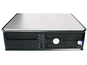 Dell OptiPlex 745 Desktop Computer, Dual Core2 2.13GHz, 4GB, 80GB, W7/10 & more