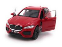 Jaguar Model Car With Desired License Plate F-Pace SUV Red Scale 1:3 4-39