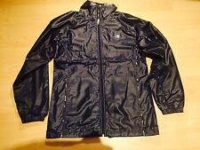 champion usa wet look nylon shiny glanz track top XS  mens