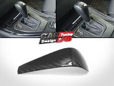 Carbon Moulding Shift Shifter Gear Knob Cover For BMW E90 E91 E92 E93 318i 320i