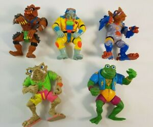 Teenage Mutant Ninja Turtles TMNT Playmates Action Figure Genghis Bonafrog