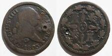 CARLOS IV ,  4 MARAVEDIS DE 1803 , SEGOVIA