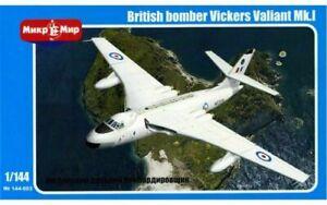 1/144 Cold War Bomber : Vickers Valiant B. Mk. 1 [RAF] #144-003: MIKROMIR