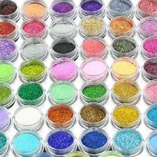 90 Pot x Fine Nail Art Glitter Decoration Dust Powder Value Pack (598x2)