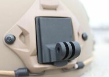 Aluminum Helmet Fixed Mount for Gopro Hero4 3+ 3 2 HD and NVG Mount Base Adapter