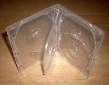 DVD Hülle Cases 5fach 5er DVDhülle transparent Rückenbreite 15mm für 5 DVDs Neu