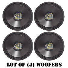 "Lot of (4) Pyle PPA10 600 Watt Professional Premium PA 10"" Woofers DJ Pro Audio"