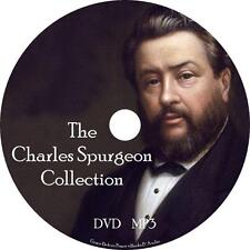 Charles Spurgeon Christian Audio Book Collection on 1 MP3 DVD Grace Free Ship
