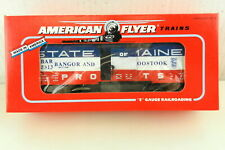 AMERICAN FLYER/Lionel S Scale #6-48313 Bangor Aroostock Boxcar ~NIB~  T142
