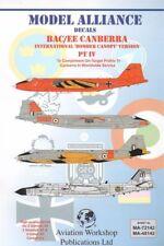 Alianza Modelo 1/48 BAC/EE Canberra parte 4 Bomber dosel versiones en extranjero ser