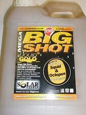 Solar CALAMARI + OCTOPUS MEGA Shot Liquido Glug da 1 LITRI Pesca Carpa