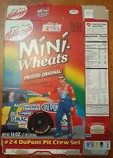 "1999 Kellogg's ""Mini Wheats"" Cereal Box Featuring NASCAR Driver Jeff Gordon"