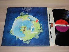 Yes LP-FRAGILE/1971 UK ATLANTIC GATEFOLD Red Plum Press in MINT -