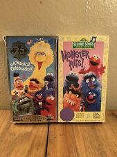 New listing Two Sesame Street Vhs Tapes