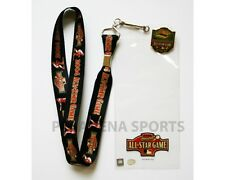 "2004 MLB HOUSTON ALL-STAR GAME LANYARD / TICKET HOLDER WITH I WAS THERE ""PIN"""