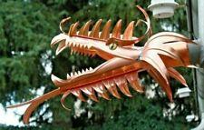 """Wasserspeier Modell """"Carola"""" aus Kupfer, Drachen, Drachenkopf, Dragon, DN 60"""