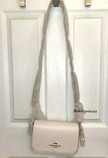 NWT $328 Coach 76698 Small Jes Messenger Leather Crossbody Bag Purse Chalk White