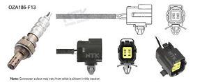 NGK NTK Oxygen Lambda Sensor OZA186-F13 fits Mazda 323 2.0 Astina (BA)