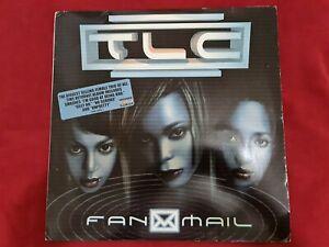 TLC Fan Mail Original 2 LP Vinyl Record Hyper Sticker
