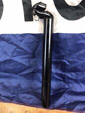 Black Alloy Cycling Seat Post 31.6 x 310 mm