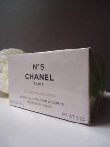 Full CHANEL Giftwrap No5 Velvet Body Cream 150ml Fabulous Rare New Sealed Box