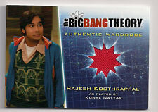 Big Bang Theory Season 5 Costume Card M4 V2 Rajesh Koothrappali