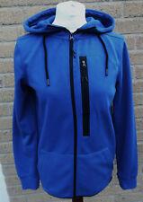 Women's Workout Technical Zip Blue Hoodie Size S