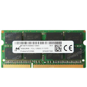 16GB 32GB 03X7015  PC3-12800 DDR3L- 1600MHz SODIMM Memory Lenovo X250 5th Gen