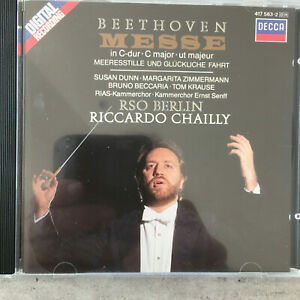 BEETHOVEN: Messe in C-dur - Chailly (CD Decca 417 563-2 / NM)
