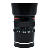 NEW 85mm f/1.8 Telephoto Portrait Lens For Sony E Mount A9 A7 A7r A7s NEX 3 5 7