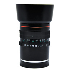 85mm F/1.8 Manual Focus Lens Telephoto Portrait Prime Lens for Sony E Mount DSLR