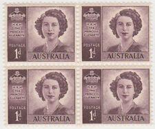 Purple Australian Pre-Decimal Stamp Blocks, Sets & Sheets