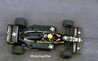 AYRTON SENNA LOTUS 97T VERY LARGE PHOTOGRAPH MONACO GRAND PRIX GP F1 1985