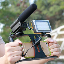 Video Cage Stabilizer Film Steady Handle Grip Rig For Mobile Phones Video Light