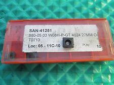 NEW Sandvik 880-05 03 W08H-P-GT 4024 Buy It Now=5pcs  FREE SHIPPING!!