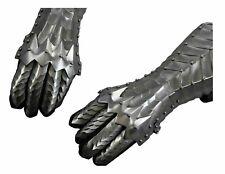 Medieval Knight Gauntlets Gothic Gauntlet Gloves 18G Steel replica