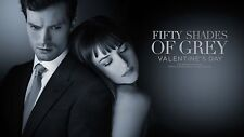 FIFTY 50 SHADES OF GREY 2015 MOVIE FILM POSTER JAMIE DORNAN DAKOTA JOHNSON