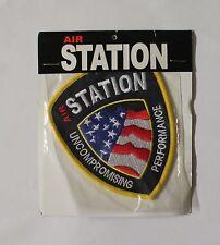 AIR STATION USA BADGE,NEW CLOTH AIR STATION USA BADGE,WOVEN AIR STATION USA BADG