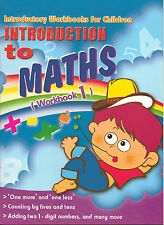 Introduction to Maths 1 Childrens Activity Practice Book Kids Read Write Learn