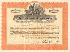 World Bestos Corporation > 1924 asbestos preferred stock certificate