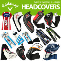 Callaway Replacement Driver Fairway Hybrid Golf Headcovers - NEW! 2021