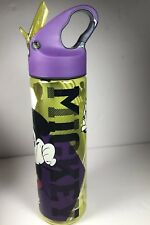 """Disney Store """"Mickey"""" Mickey Mouse Plastic Bottle with Straw"""