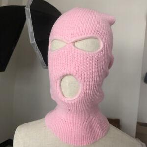 NEW Face Mask Ski Mask Winter Cap 3 Hole Balaclava Beanie Hat Hood Tactical Warm